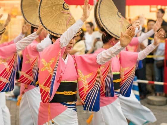 awa odori festival, tokushima