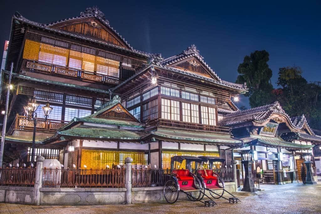 Dogo Onsen, Matsuyama, Ehime Prefecture