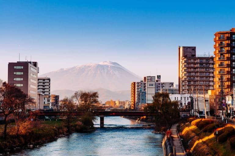 Mt. Iwate, Morioka, Tohoku