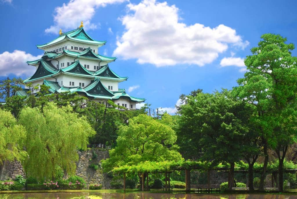 Nagoya Castle in Aichi Pregfecture