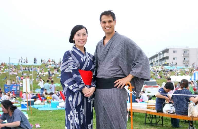 John and wife Kanae