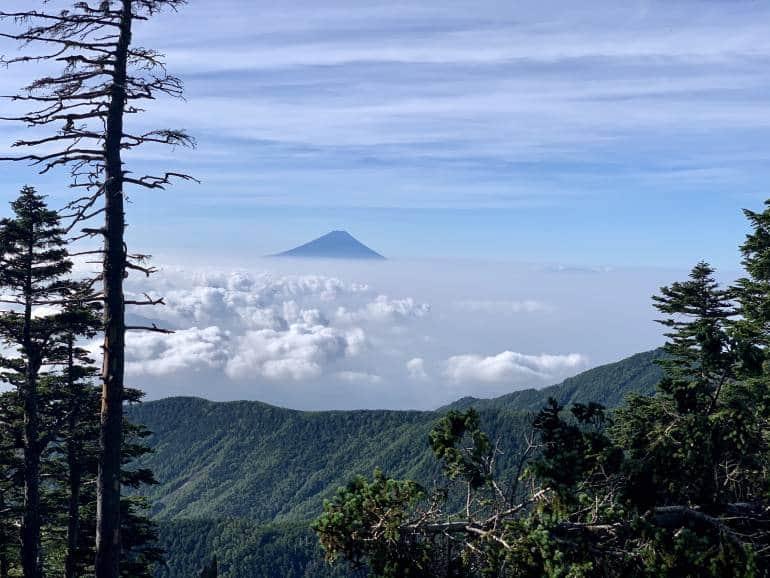 hiking yatsugatake