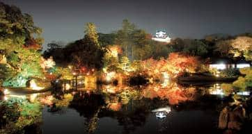 genkyuen and hikone castle