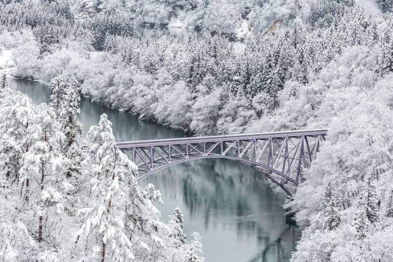 Japan winter natural wonders