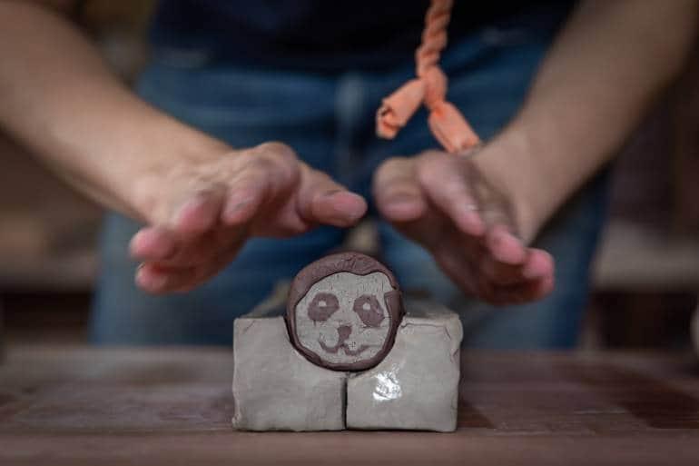 nerikomi pottery