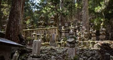 Koyasan cemetery