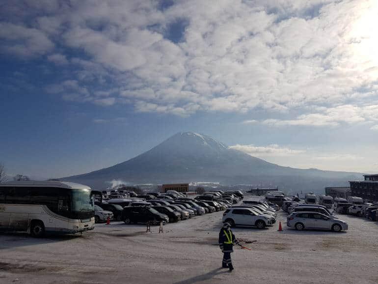 The Grand Hirafu Parking Lot