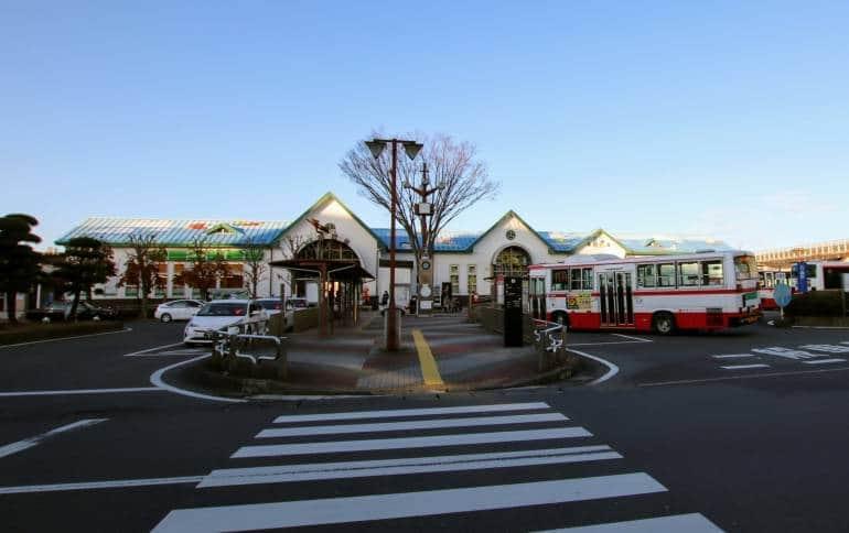 Ishinomaki JR Train Station