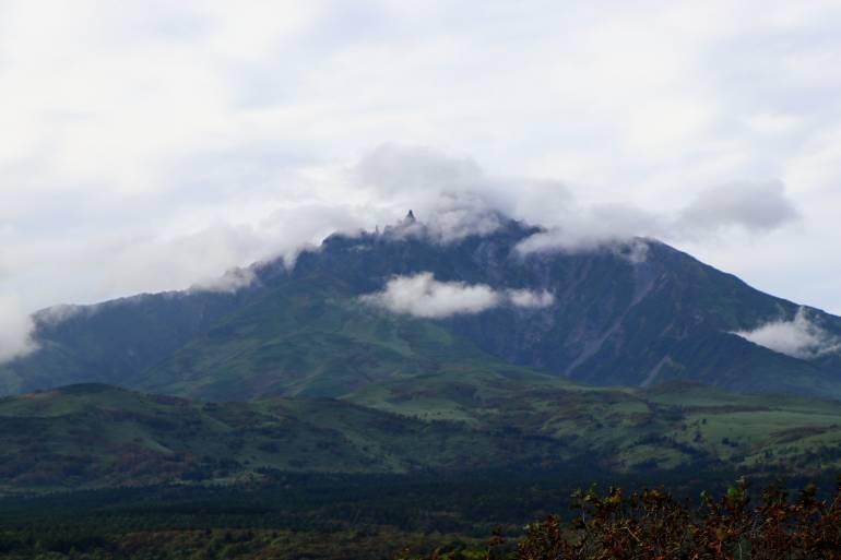 Mount Rishiri from Numaura Observatory