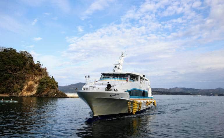 Tashirojima Sea Cat Boat