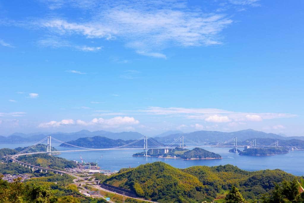 Kurushima Kaikyo Bridge, Shimanami Kaido