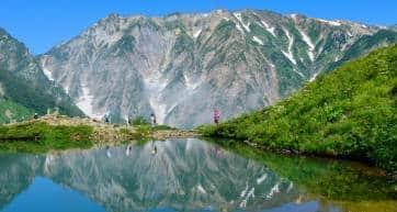 Happo-ike Pond at Happo-one in Hakuba, Nagano