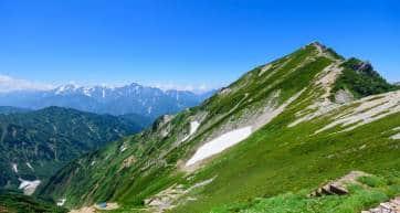 Mt.Karamatsu in summer