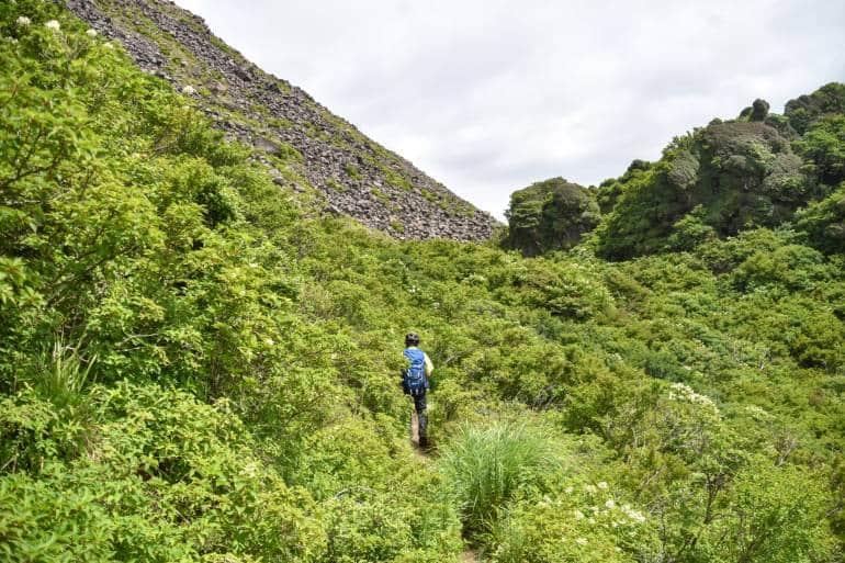 hiking in Unzen-Amakusa National Park