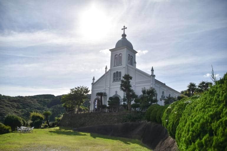 Sakitsu Village church in Amakusa