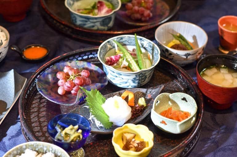 Shinyu Hotel breakfast