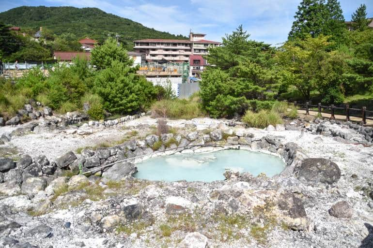 unzen jigoku hot spring