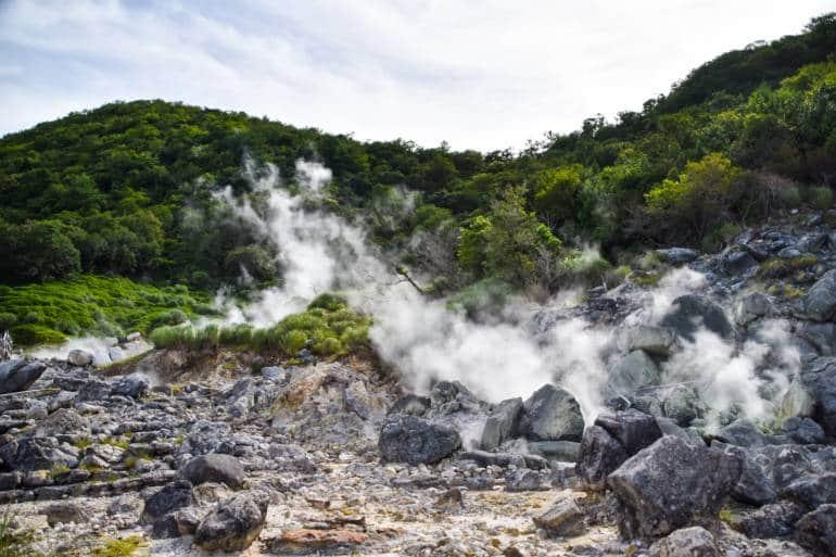 Unzen-Amakusa National Park hot springs