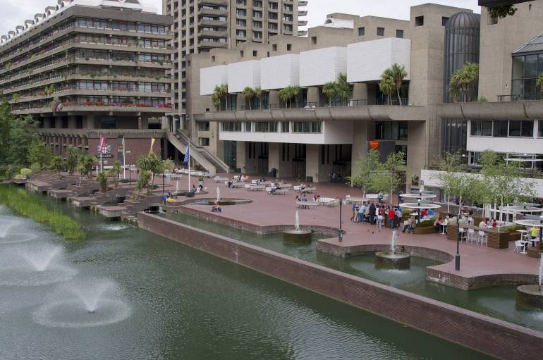 You can easily spend a whole day at The Barbican Centre