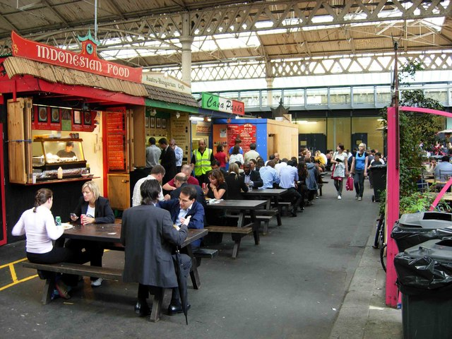 Old Spitalfields Market is a great place to discover street food and quirky bargains