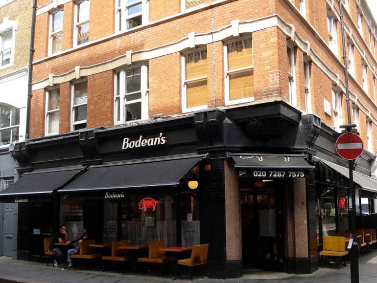 Bodean's, Soho