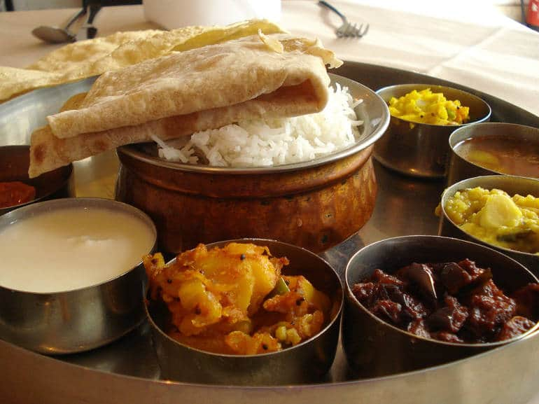 Thali is a great way to try a variety of tasty dishes at an affordable price