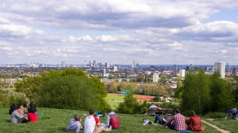 Best views in London—Parliament Hill