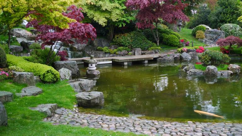 The Kyoto Garden at Holland Park is as elegant as it is serene