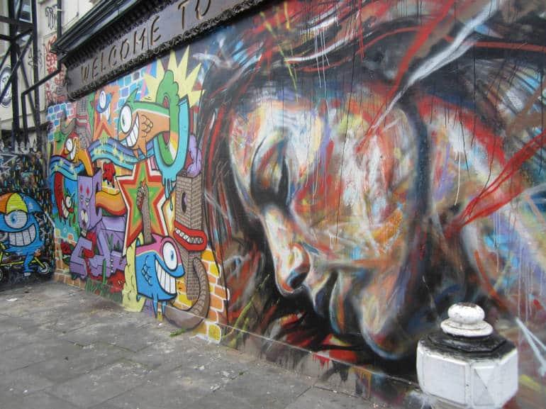 Street Art in Brick Lane by Matt from  London
