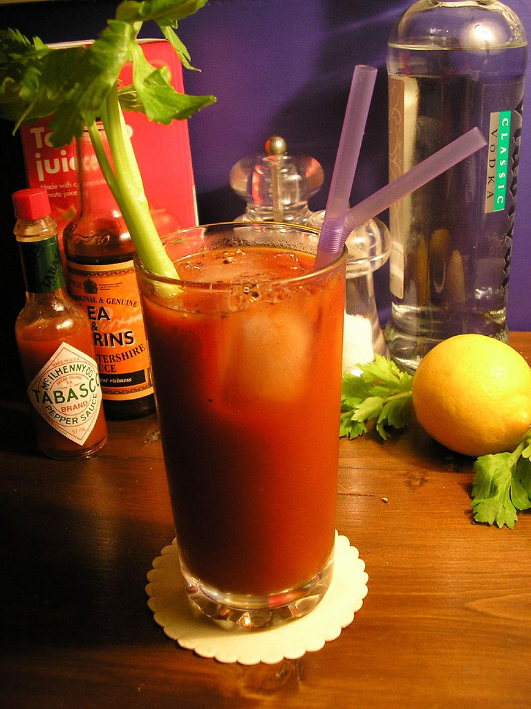 Bloody Mary cocktails seem to feature on many of the London brunch menus