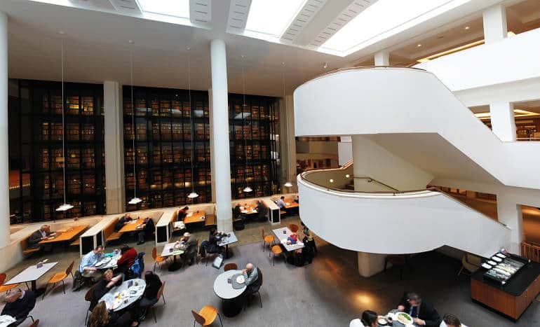 You could easily lose many hours in The British Library