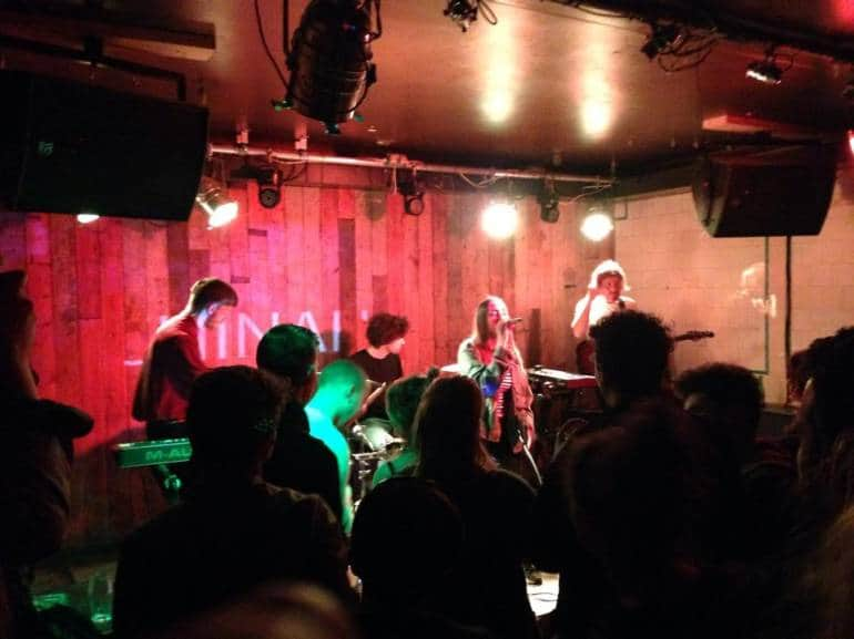 CHINAH playing at The Waiting Room - london music venues