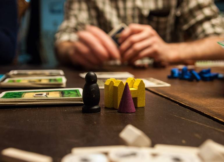At Draught's you can play everything from Settlers of Catan to Scrabble