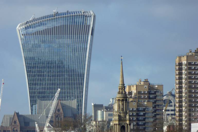 Best views in London—Walkie Talkie