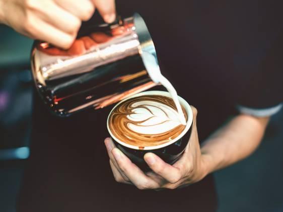 London Coffee Festival Latte Art