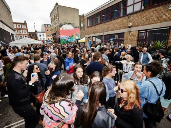 Star of Bethnal Green Street Party