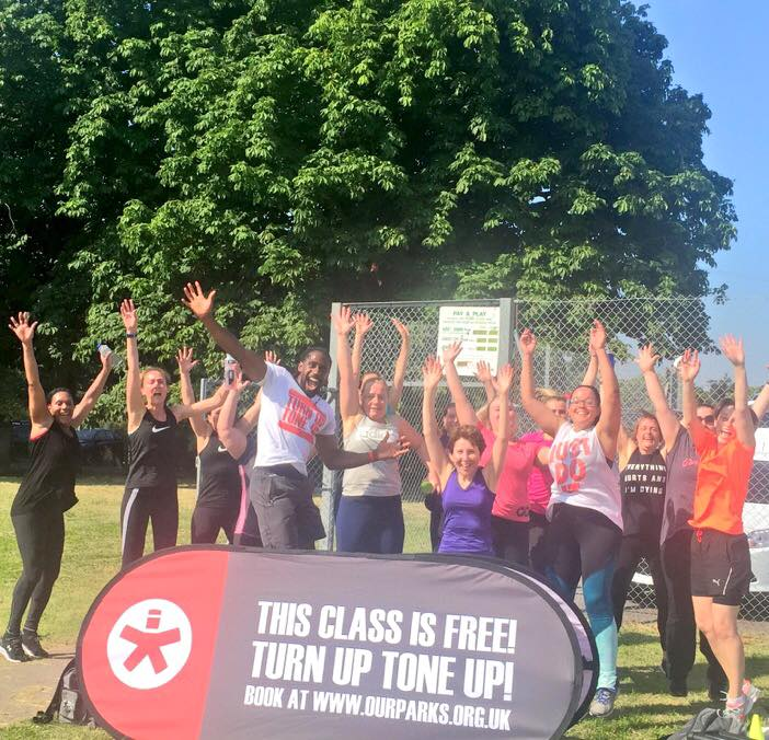 our parks free fitness london