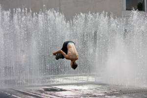 Fountain Parkour