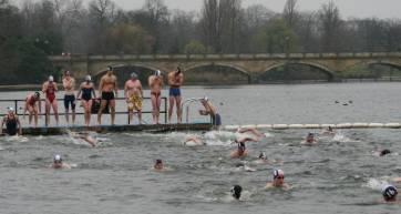 serpentine club swimmers
