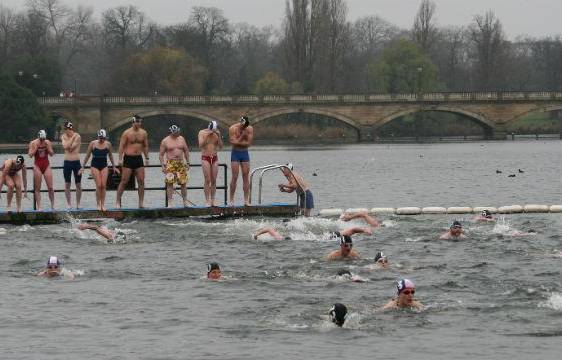 serpentine club swimmers
