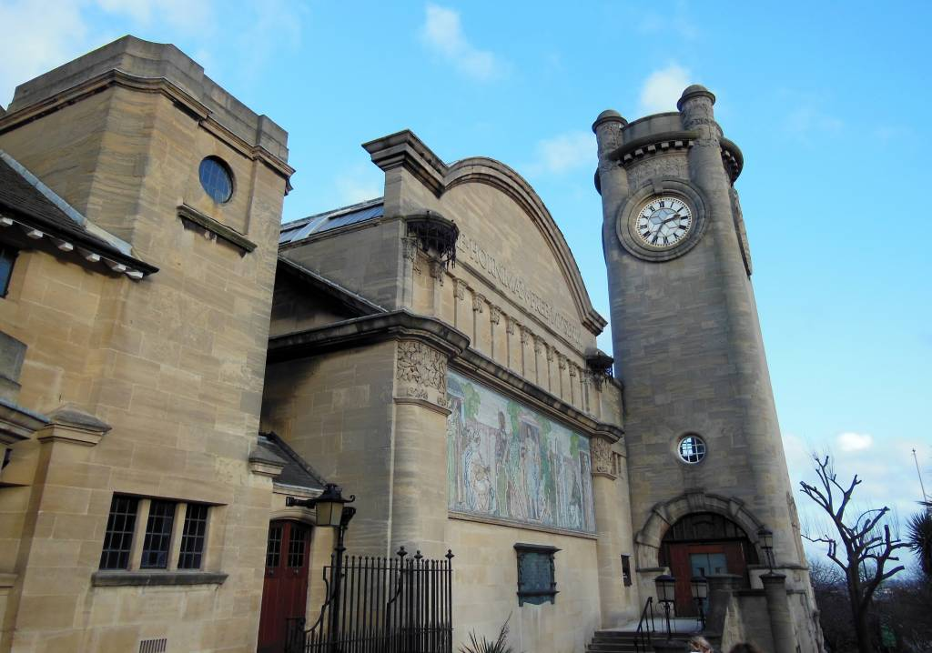 Museum entrance and clocktower