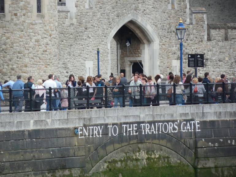 Traitors' Gate at the Tower of London Historic Sights