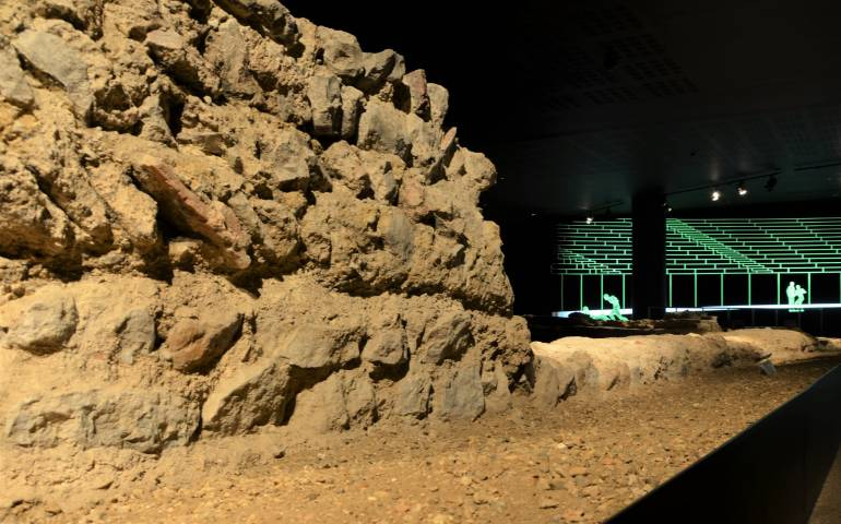 roman ruins London Historic Sights