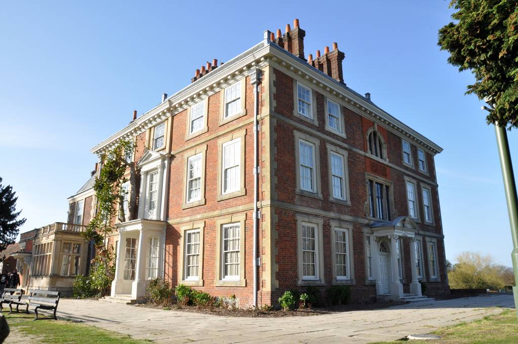 A stately home in London