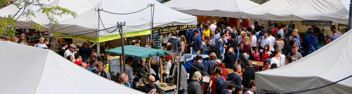 London Outdoor Markets for Cheap Eats