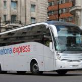 A coach in central London