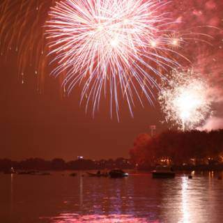 Bishops Park Fireworks 2022