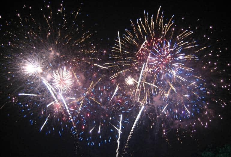 Hackney Fireworks