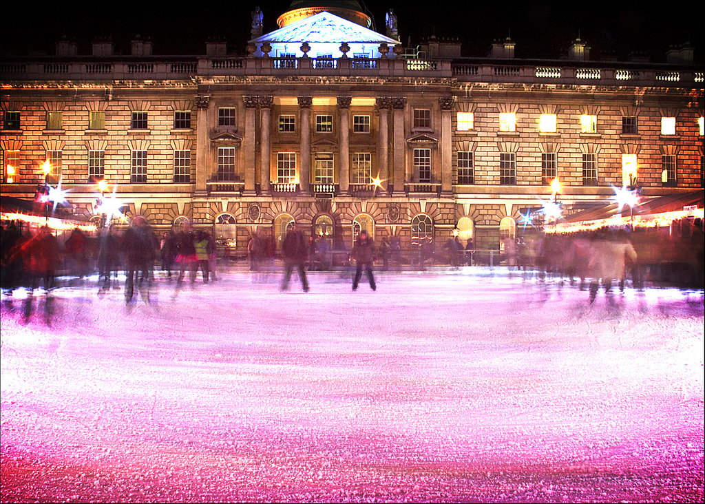Ice Skating Somerset House