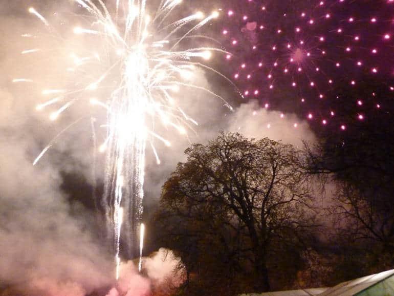 Ravenscourt Park Fireworks